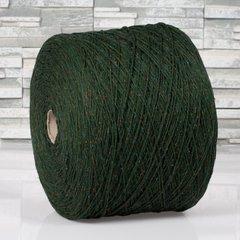 Твид Filatura di Pollone Lana Seta Tweed Зеленый